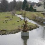 Denkmal von Emil Erpel, dem Gründer von Entenhausen