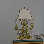 Eine nette Tischlampe