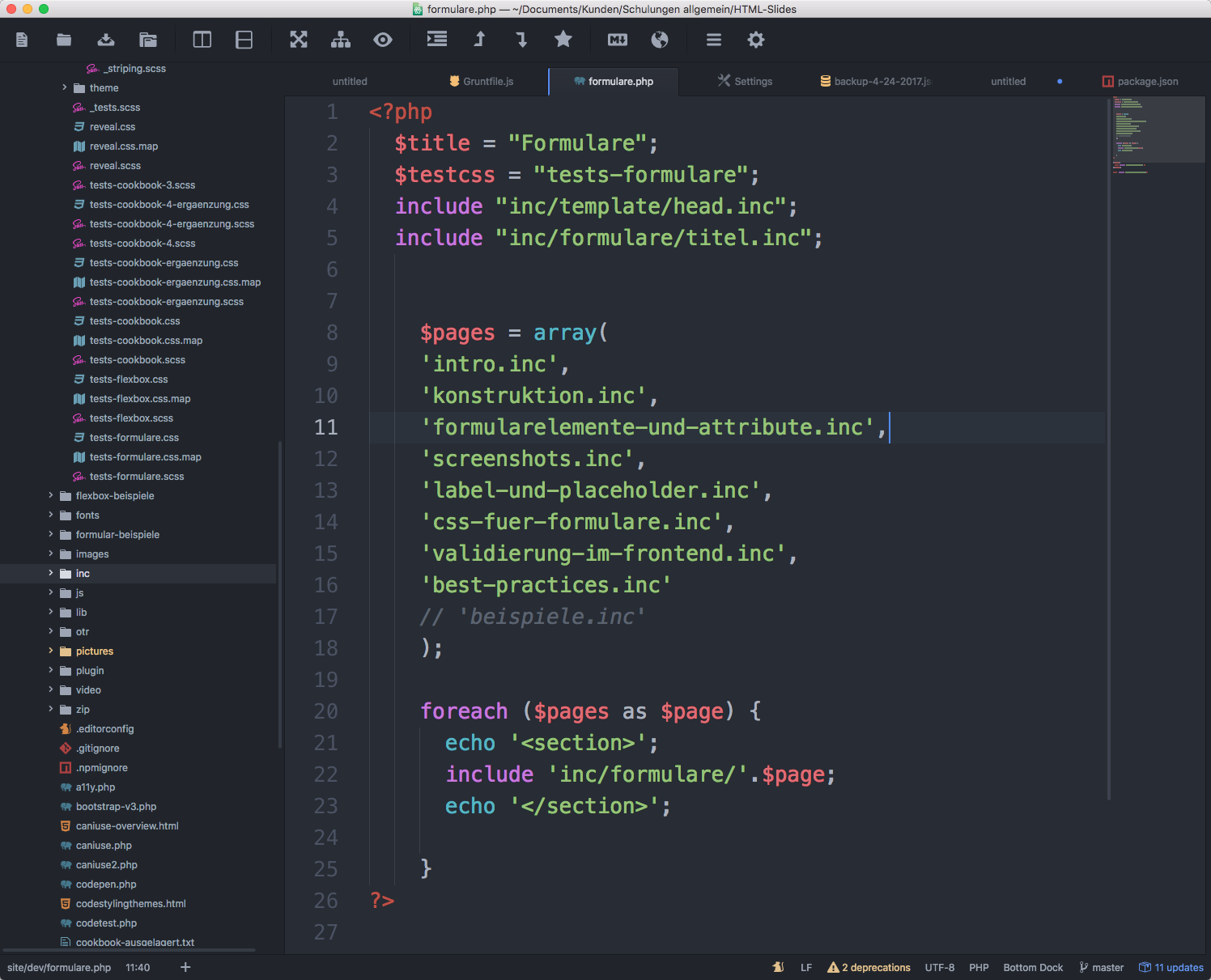 Codehighlighting in Atom